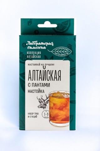 Настойка Лаборатория Самогона Алтайская с пантами