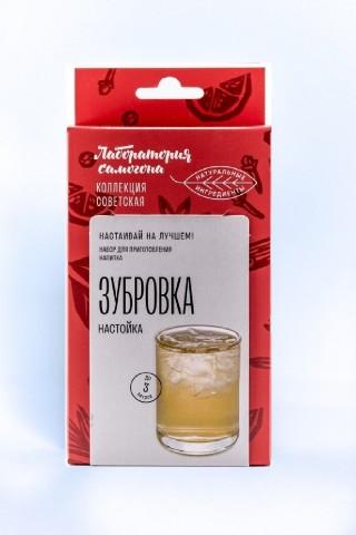 Настойка Лаборатория Самогона Зубровка