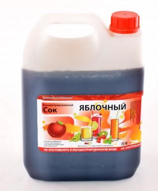 Сок концентрированный яблоко 5кг