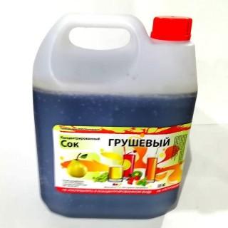 Сок концентрированный груша 5кг