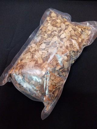 Дубовая щепа среднего обжига (150 гр.)