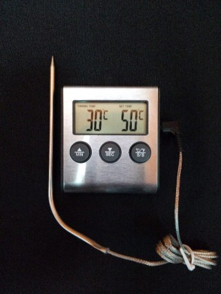 Термометр со звуковым оповещением
