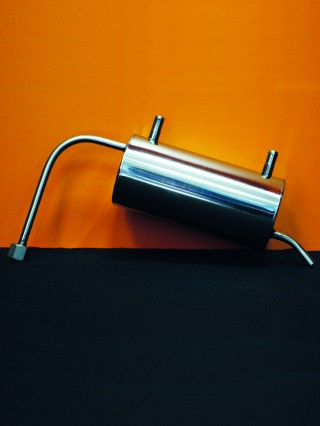 Охладитель проточный (нержавеющая сталь)