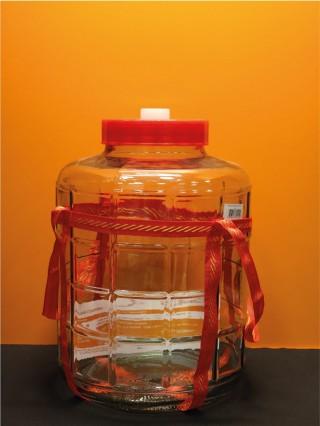Банка стеклянная с гидрозатвором (18 л.)
