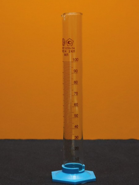 Цилиндр мерный (100 мл.)