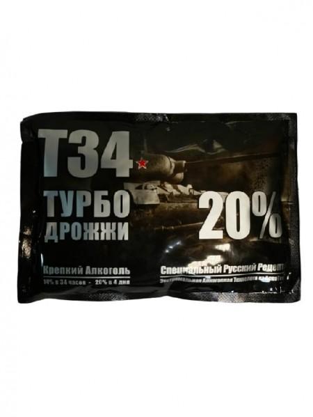 Турбо дрожжи Alcotec «Т-34»