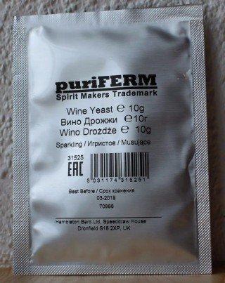 Дрожжи PuriFerm «Игристое» Yeast