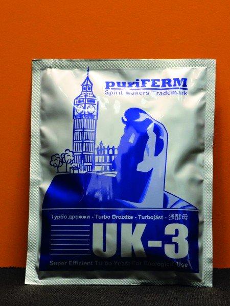 Турбо-дрожжи PuriFerm «UK-3»