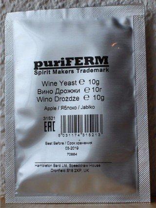 Дрожжи PuriFerm «Яблоко» Yeast